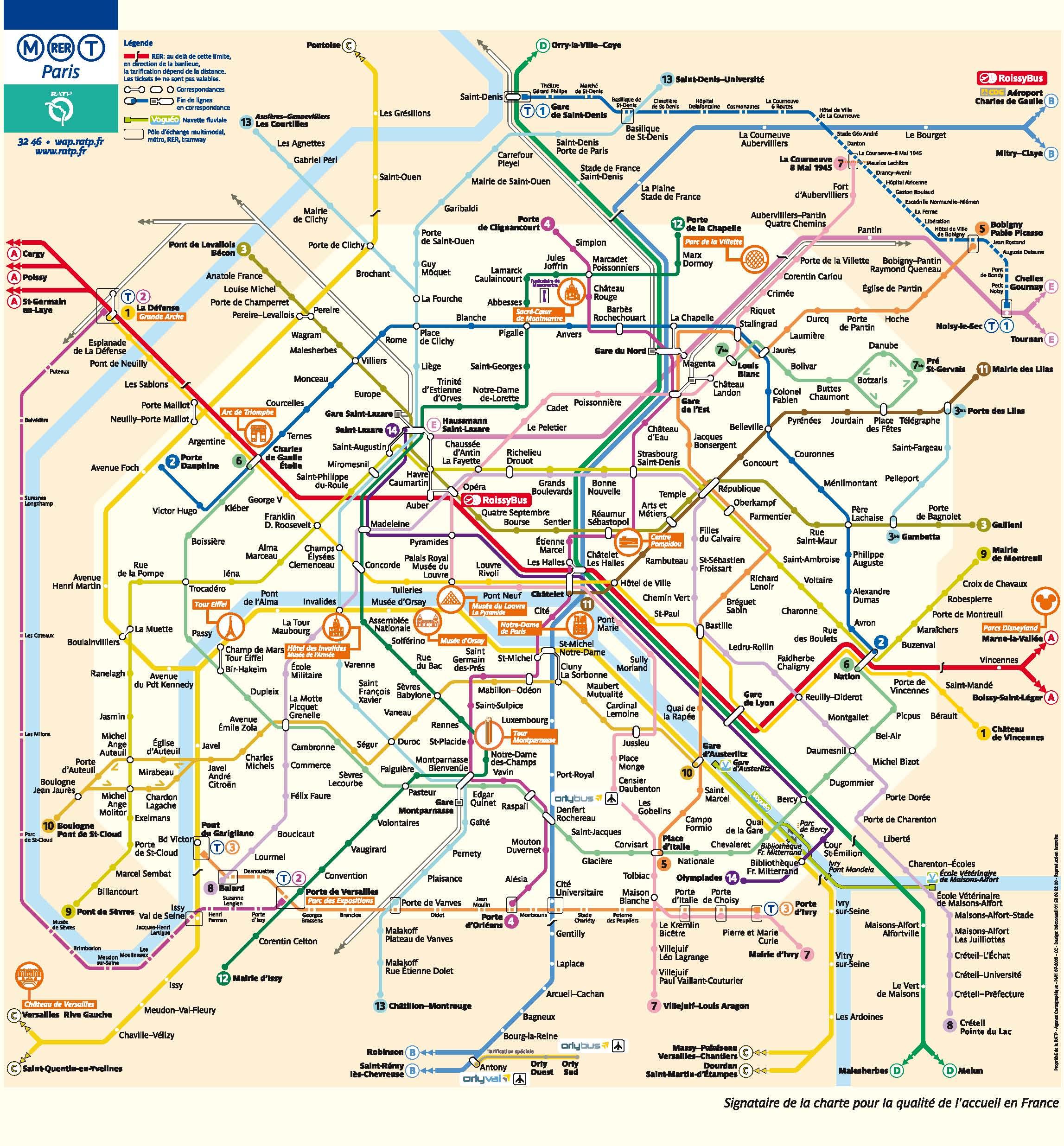 Paris Metro Zonen Karte.Paris Spectacle Kartenservice Linienplane Und Zonenplan